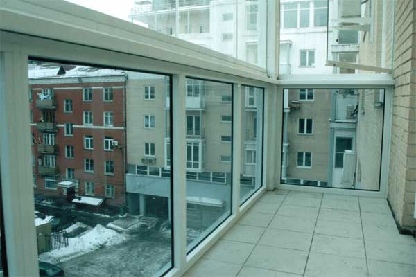 Остекление балконов и лоджий - омск - fабрика jалюзи - + 7(3.